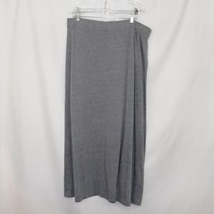 Sonoma. Xl. Grey Maxi Skirt